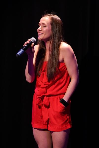 Amanda LaVergne sings ''My Lifelong Love''