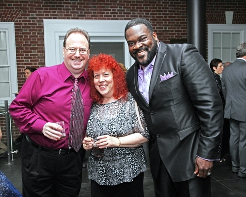 Stephen Kantrowitz, Jodi Chekofsky, Phillip Boykin Photo