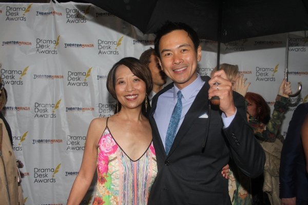 Jeanne Sakata and Joel De La Fuente
