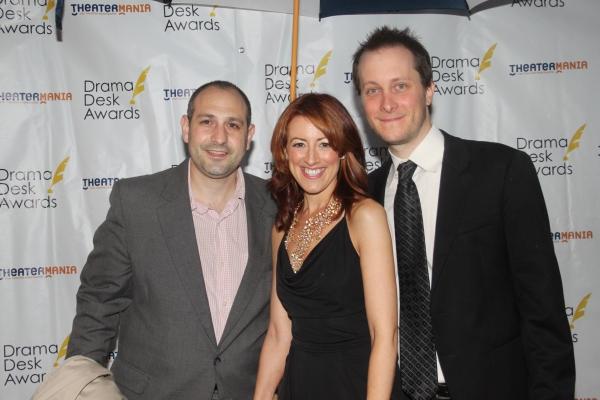 Joe Trentacosta, Kate Wetherhead and Jeff Croiter