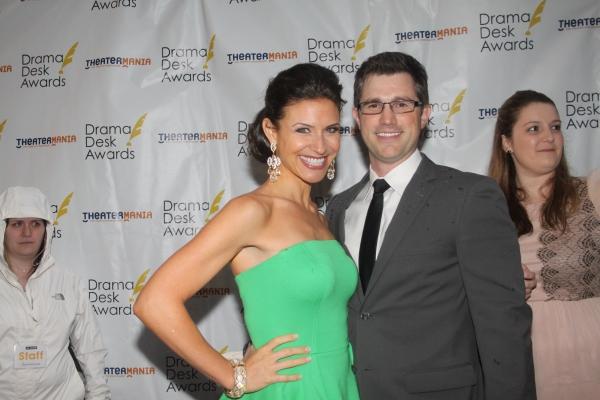 Jenny Powers and Matt Cavenaugh