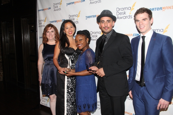 Donna Lynne Champlin, Marie-France Arcilla, Kenita Miller, Mehal Joshi and Jay Armstrong Johnson