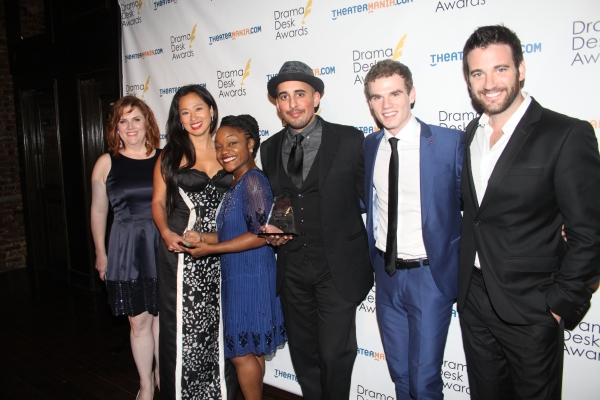 Donna Lynne Champlin, Marie-France Arcilla, Kenita Miller, Mehal Joshi and Jay Armstrong Johnson and Colin Donnell