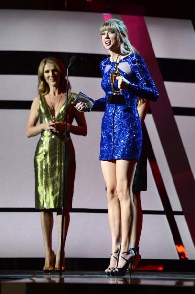 Celine Dion, Taylor Swift