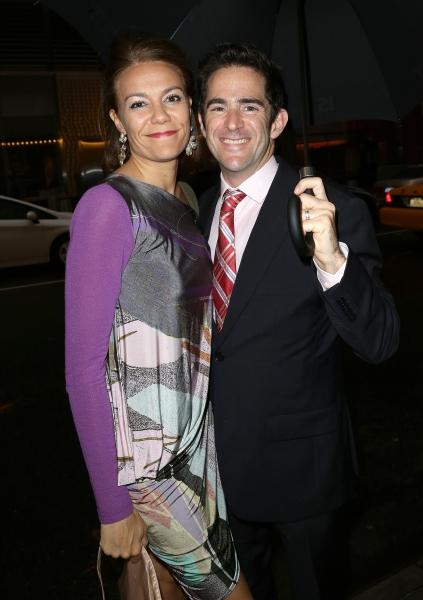Andy Blankenbuehler & wife Elly