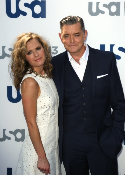 Maggie Lawson and Timothy Omundson  Photo