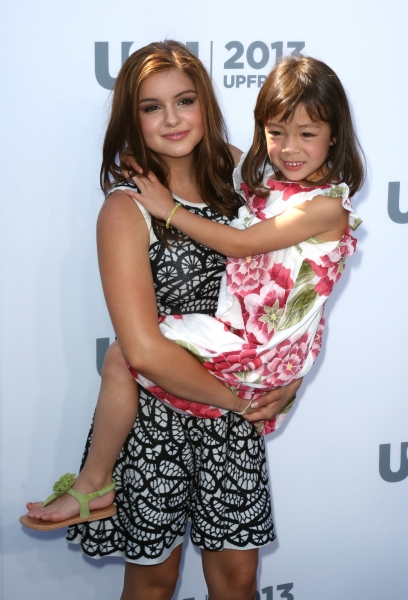Ariel Winter and Aubrey Anderson-Emmons