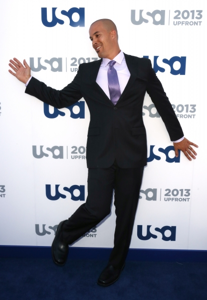 Photo Coverage: Aaron Tveit & More Gather for USA Upfronts in NYC