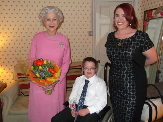Mirren Visits Sick Child In Character As The Queen