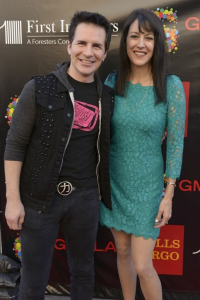 Hal Sparks and Stephanie Miller