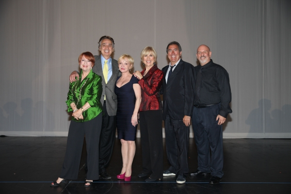 Judges Nancy Dussault, John Bowab, Cathy Rigby, Karen Morrow, Kenny Ortega & Musical Director Gerald Sternbach
