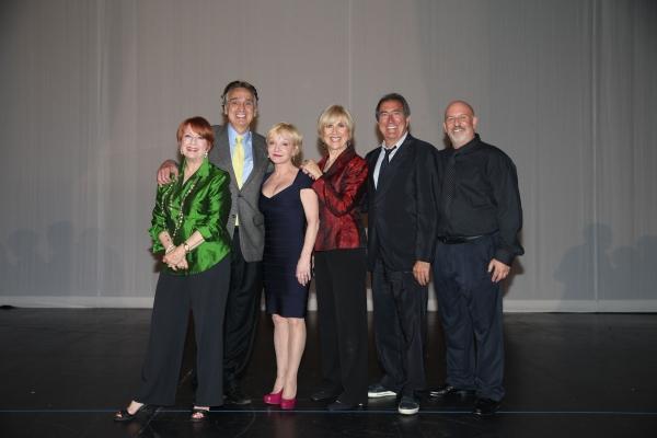 Judges Nancy Dussault, John Bowab, Cathy Rigby, Karen Morrow, Kenny Ortega & Musical Director Gerald Sternbach
