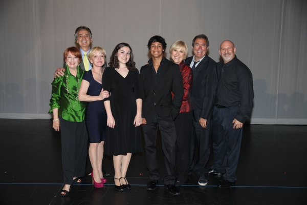 Judges pose with Grand Prize winners at The 2nd Annual Jerry Herman Awards at Pantage Photo