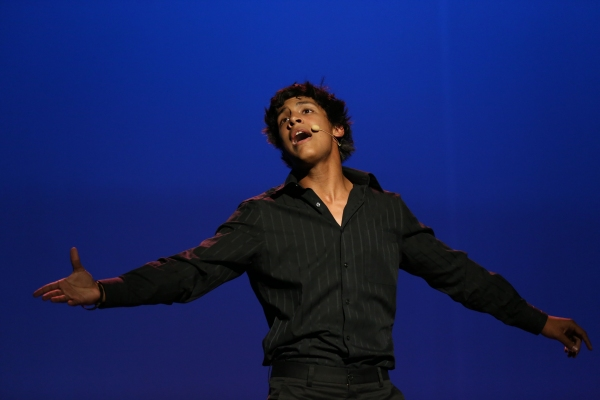 Grand Prize winner Anthony Nappier from Arcadia High School performs ''I Am Aldopho'' from The Drowsy Chaperone