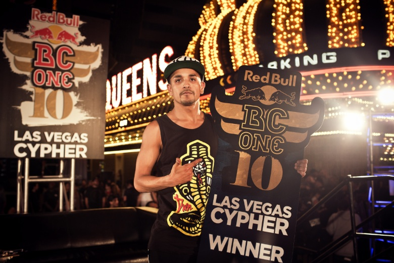 B-Boy 'Lil Rock' Wins Red Bull BC One Las Vegas Cypher