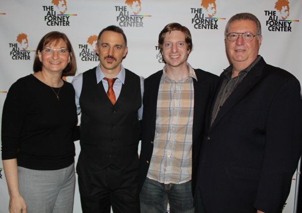 Carl Siciliano and the family of Tyler Clementi Photo