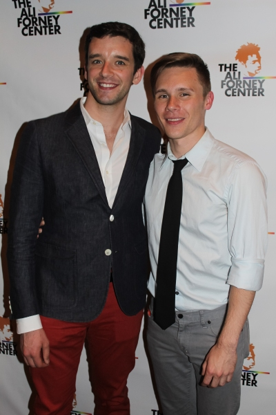 Michael Urie and Seth Sikes