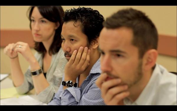 Andrea Hager, Victor Lirio, Josh Pultz Photo