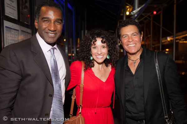 Norm Lewis, Natalie Hill, Clint Holmes Photo