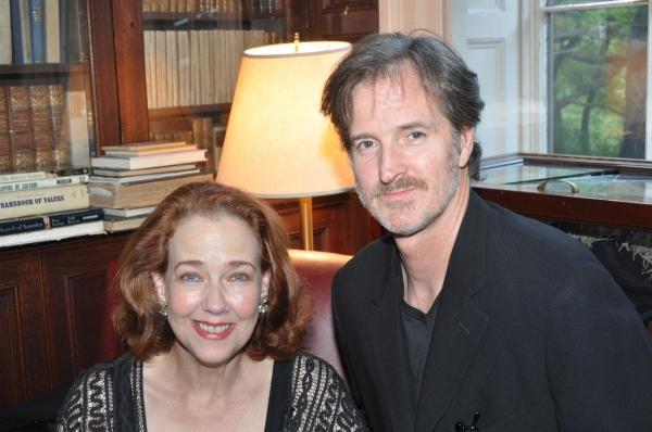 Harriet Harris and Matthew Suliivan