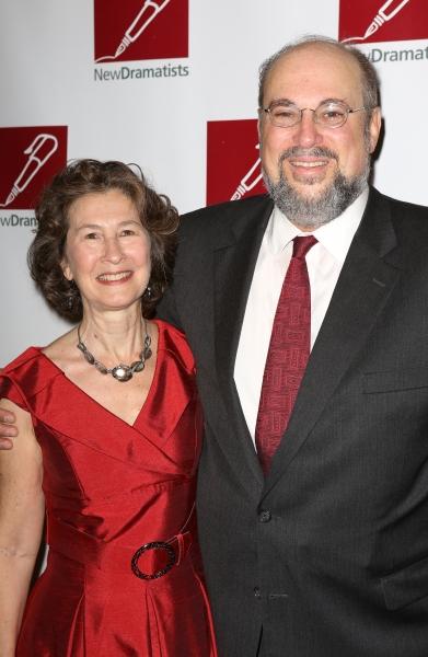 Seth Gelblum with wife