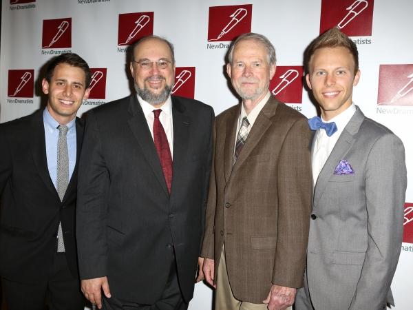 Benj Pasek, Seth Gelblum, Joseph Robinette, Justin Paul  Photo