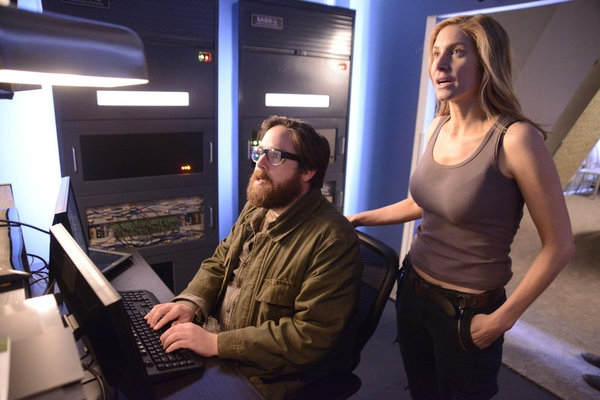 Zak Orth, ELIZABETH MITCHELL Photo
