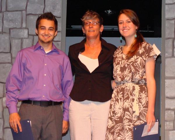 Tanner Uffelman, Ann Davis, Sarah Tyler