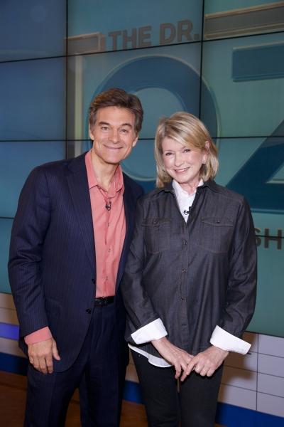 Dr. Oz, Martha Stewart