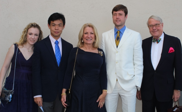 Ashley Bell, Chao Liao, Gail Bell, Andrew Bell and David Bell
