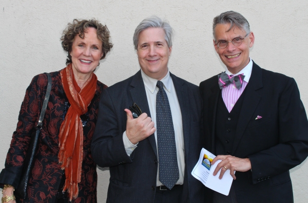 ElizaBeth Williams, Gregory Orr and Joe Forte