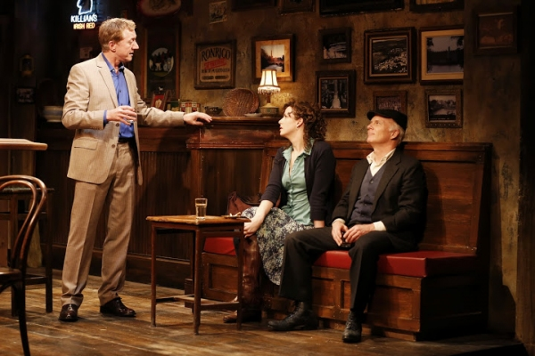 Sean Gormley (Finbar), Tessa Klein (Valerie) and Dan Butler (Jack)