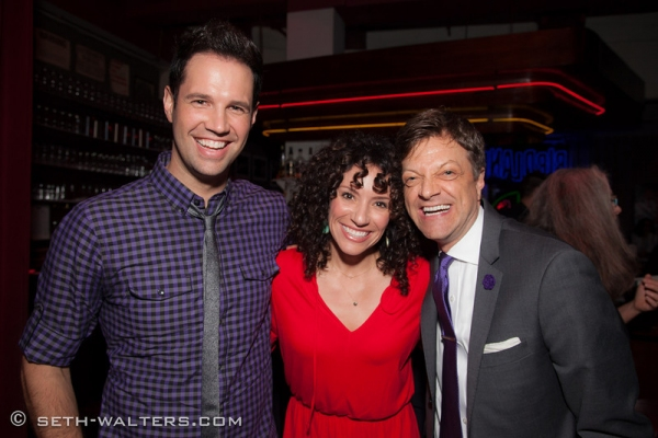 David Osmond, Natalie Hill and Jim Caruso Photo