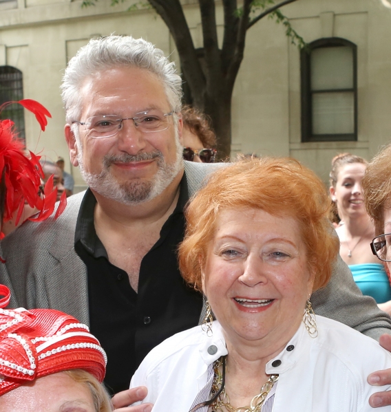 Harvey Fierstein with Cyndi Lauper''s Mother Catrine Lauper