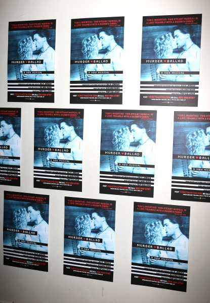 Photo Coverage: John Ellison Conlee, Rebecca Naomi Jones, Caissie Levy, and Will Swenson Celebrate Opening Night of MURDER BALLAD!