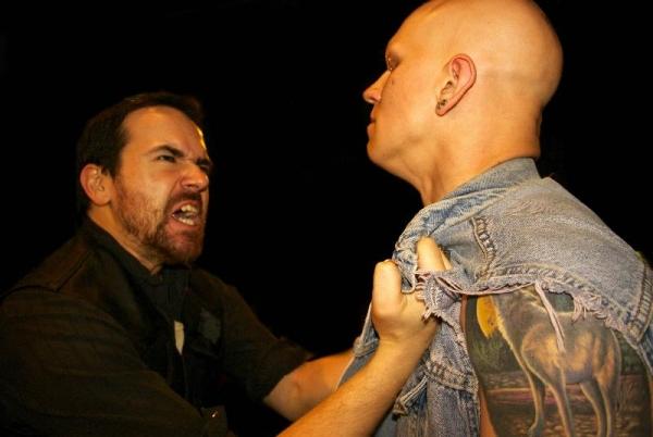 Carlo Lorenzo Garcia as Richard, Jude Roche as Buckingham