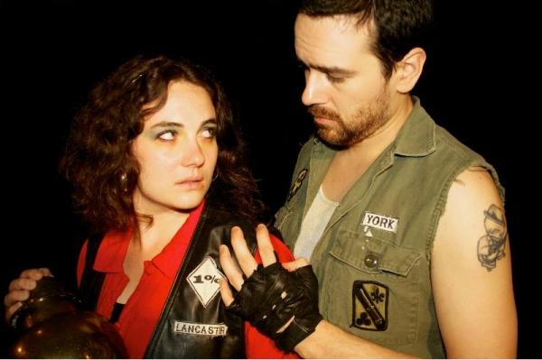 Hilary Williams as Anne, Carlo Lorenzo Garcia as Richard