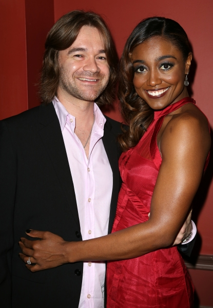 Patina Miller with boyfriend David Mars