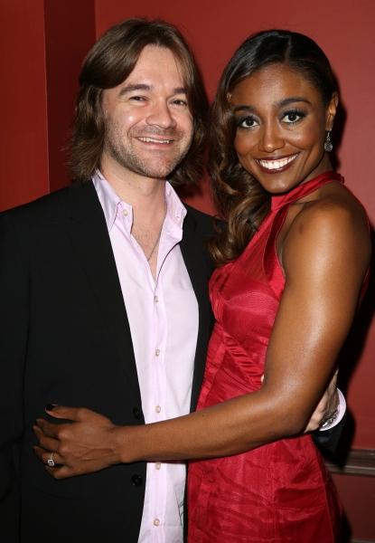 Patina Miller with boyfriend David Mars