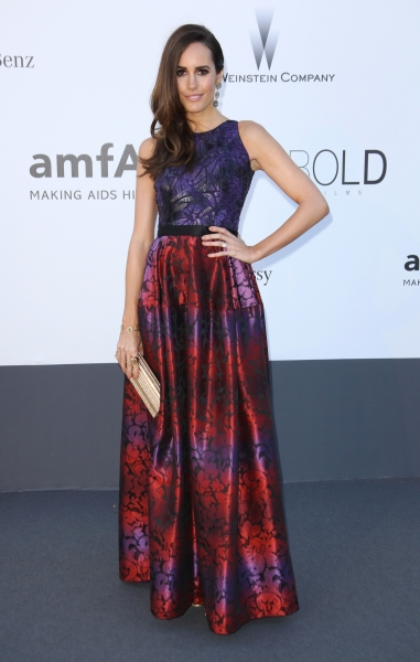 Louise Roe at the amfAR Cinema Against Aids 2013 Gala at the 66th Cannes Film Festival (Photo by Matt Baron / BEImages)