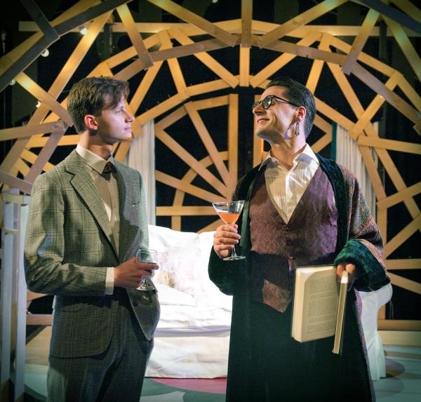 Sid Phoenix (left) and Henry Wyrley-Birch
