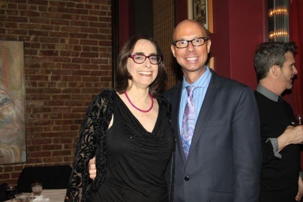 Eileen Weiss and Richie Ridge