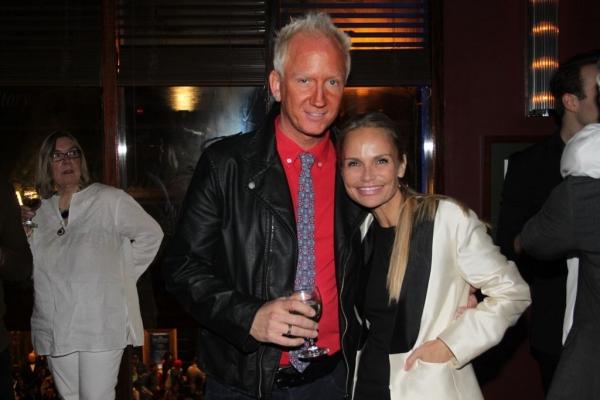 Walter McBride and Kristin Chenoweth