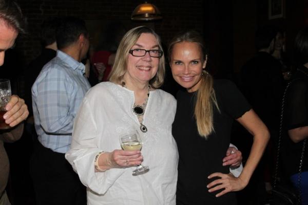 Nancy Carson and Kristin Chenoweth Photo
