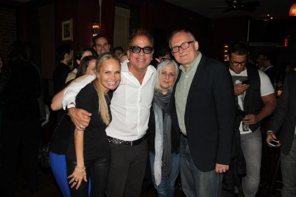 Kristin Chenoweth, Richard Jay-Alexander, Joan Marcus and Adrian Bryan-Brown Photo