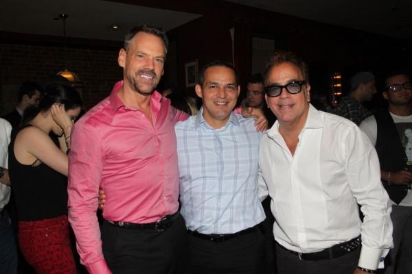 Keith Batten, Ruben Flores and Richard Jay-Alexander