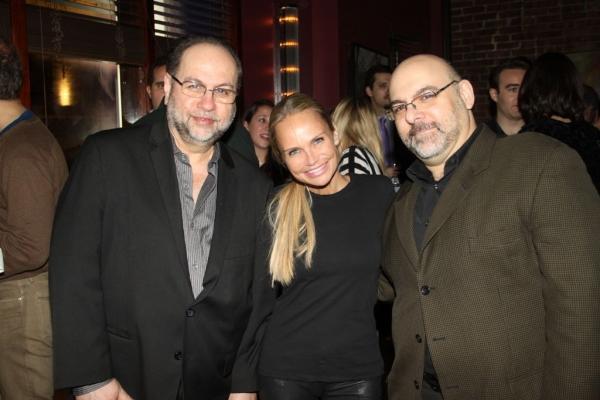 Anthony Regina, Kristin Chenoweth and Joe Marzullo
