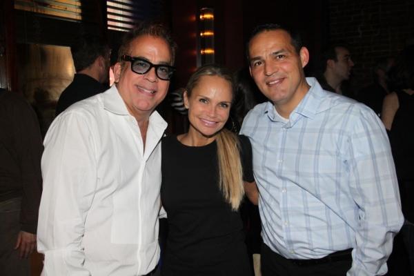 Richard Jay-Alexander, Kristin Chenoweth and Ruben Flores