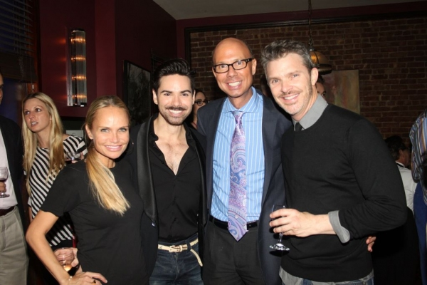 Kristin Chenoweth, Michael Strassheim, Richie Ridge and Dennis Jones