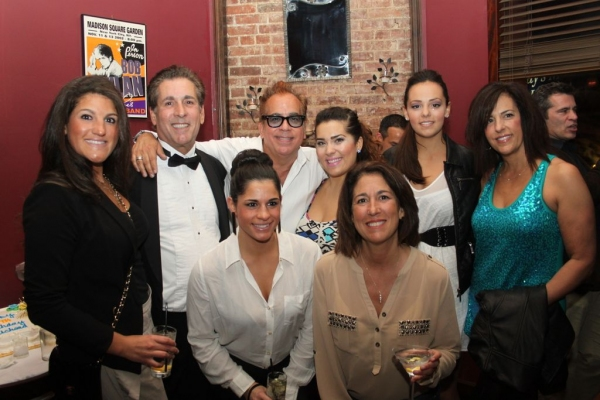 Family Photo! Alexandra Corpora, Rodney Fernandez, Andrea Corporea, Richard Jay-Alexander, Samantha Rey, Dulce Fernandez and Georgette Fernandez